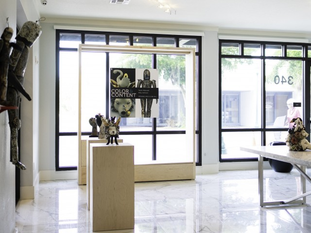 Image of Art-centric community featuring an on-site art gallery, original and unique works displayed throughout the common areas, and a permanent public sculpture by visual artist Daniel Arsham for ARCOS