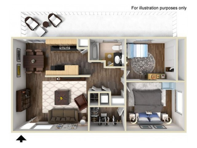 Hastings 2x1 Floor Plan