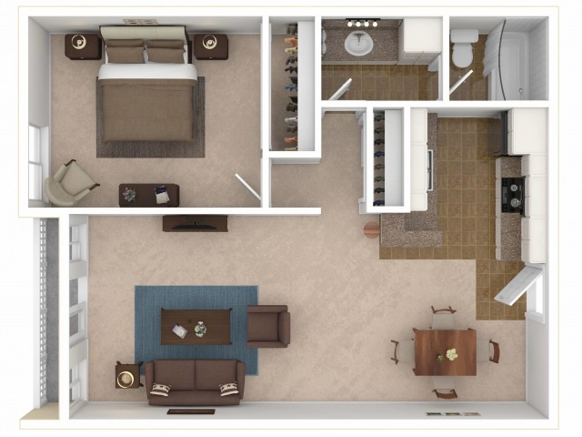 The Gallery Floorplan A