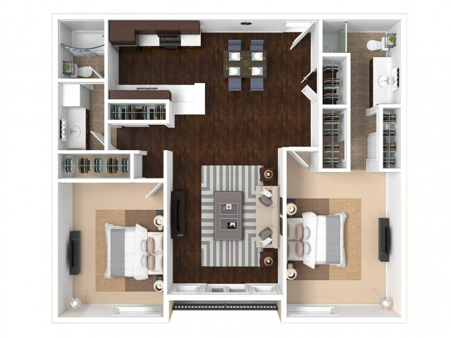The Gallery Floorplan B