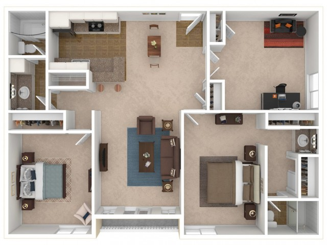 The Gallery Floorplan C