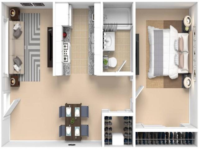 Plan A - Interior