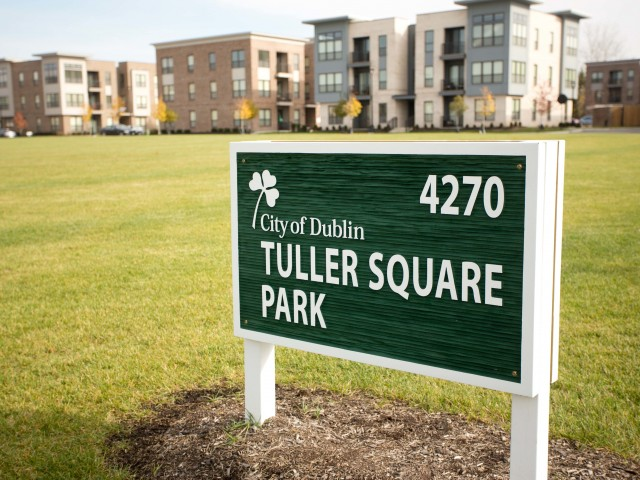Image of Tuller Square Park for Tuller Flats I