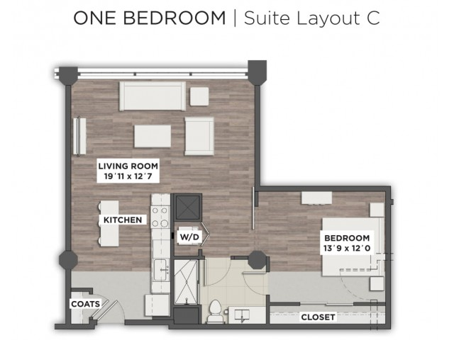 Suite Layout C
