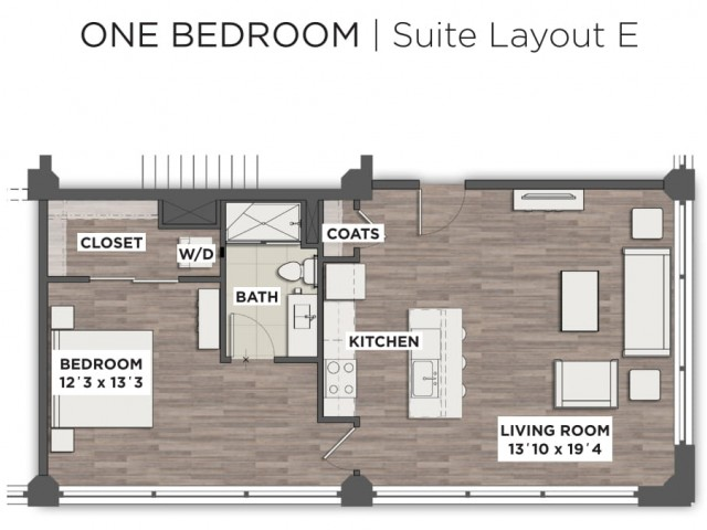 Suite Layout E