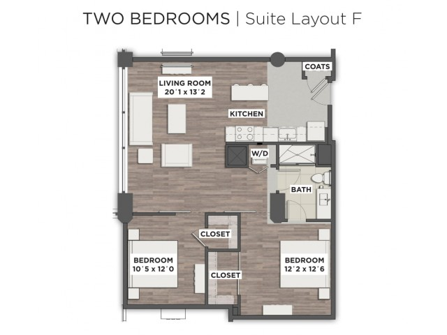 Suite Layout F