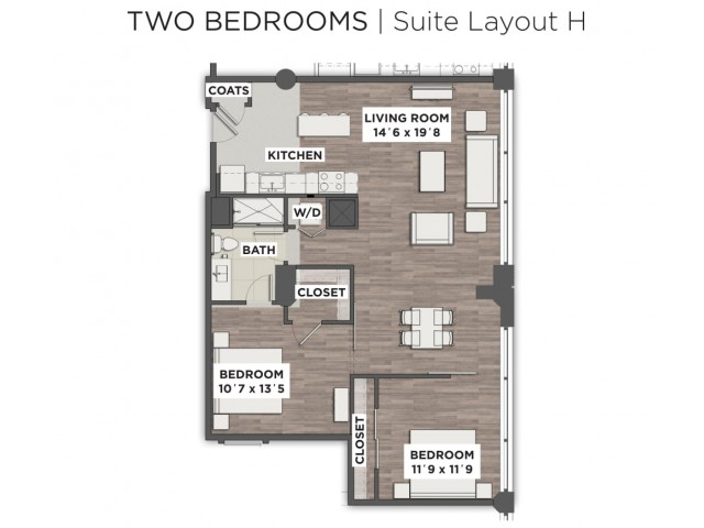Suite Layout H