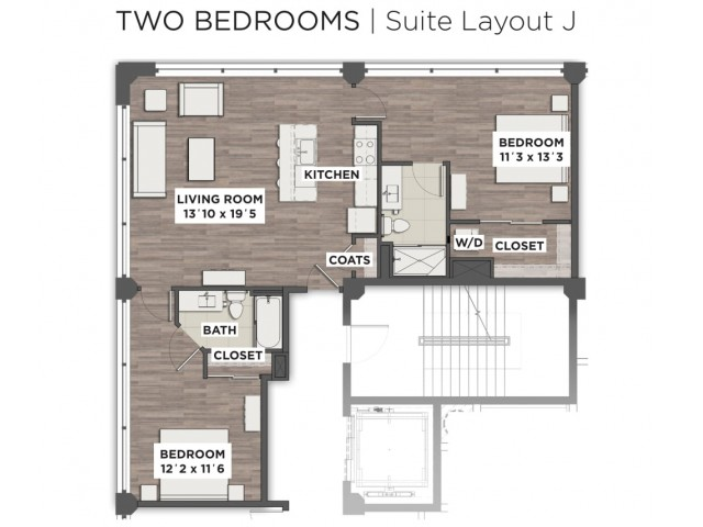 Suite Layout J
