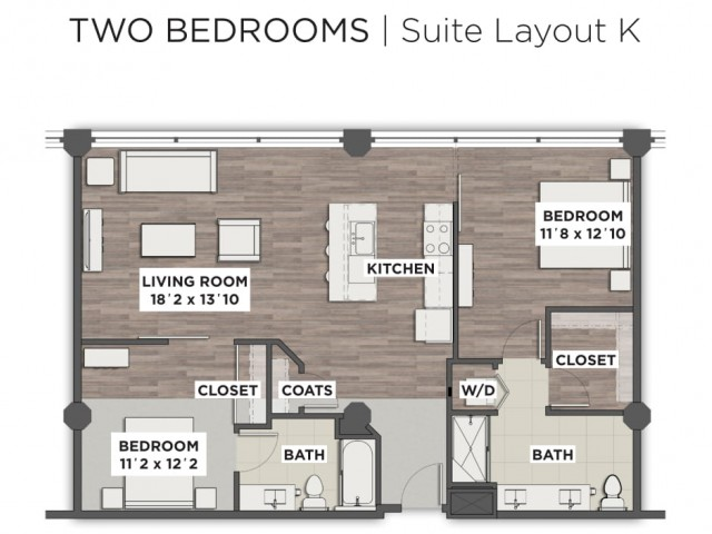 Suite Layout K