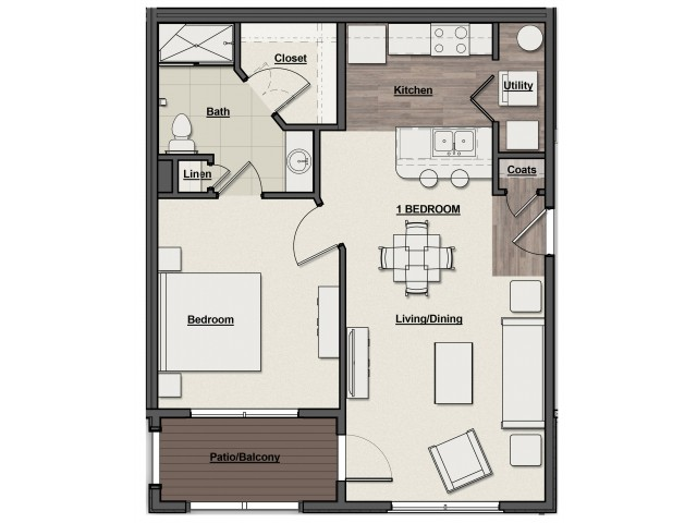 Rivers Edge Floor Plan