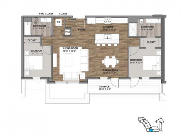 Two Bedroom - Penthouse H