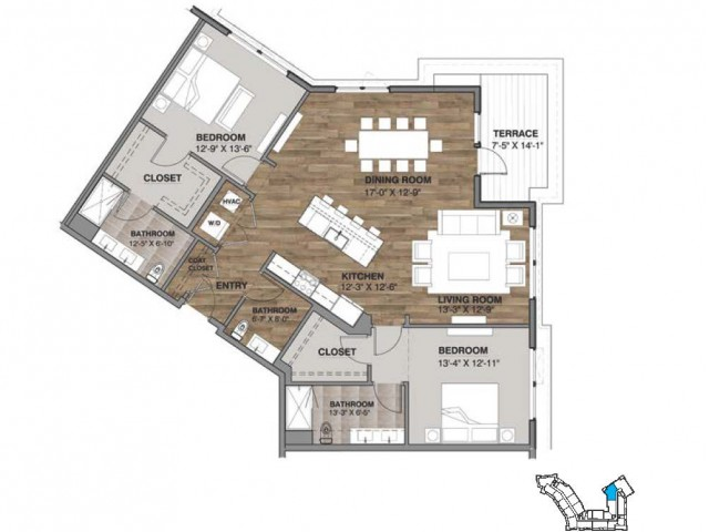 Two Bedroom - Penthouse I