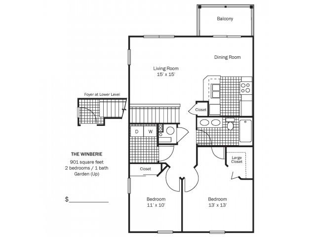 Winberie Floor Plan
