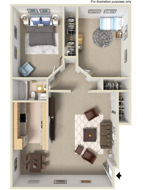 2 bedroom 1 bath apartments. All Floor Plans2 Bedroom  1 Bath 2 Bed Apartment in Vista CA Civic Park Apartments LLC