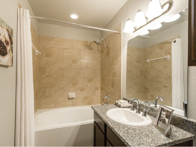 Image of Rainwater Showerheads & Modern Chrome Plumbing Fixtures for The Estates 3Eighty
