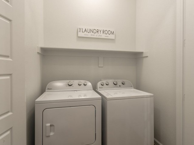 Image of Full-size Washer/Dryer Connections for The Mansions 3Eighty
