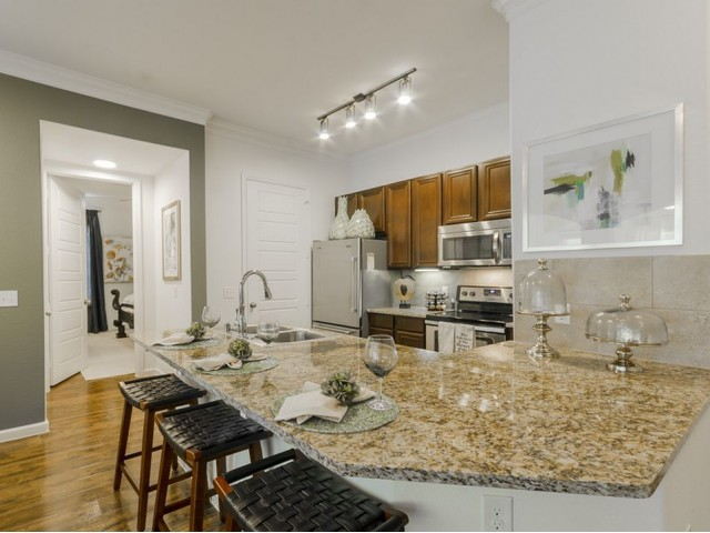 Image of Elegant Granite Kitchen & Bath Countertops for The Mansions of Wylie Active Adult Community