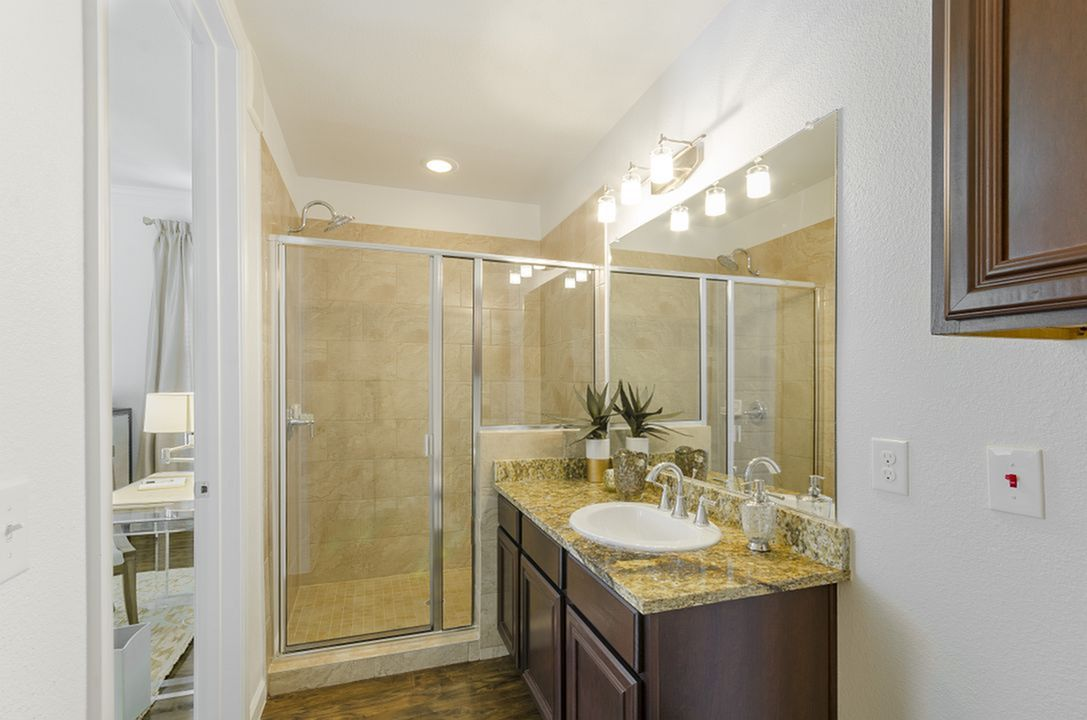 Image of Separate Stand-up Showers* for The Mansions of Wylie Active Adult Community