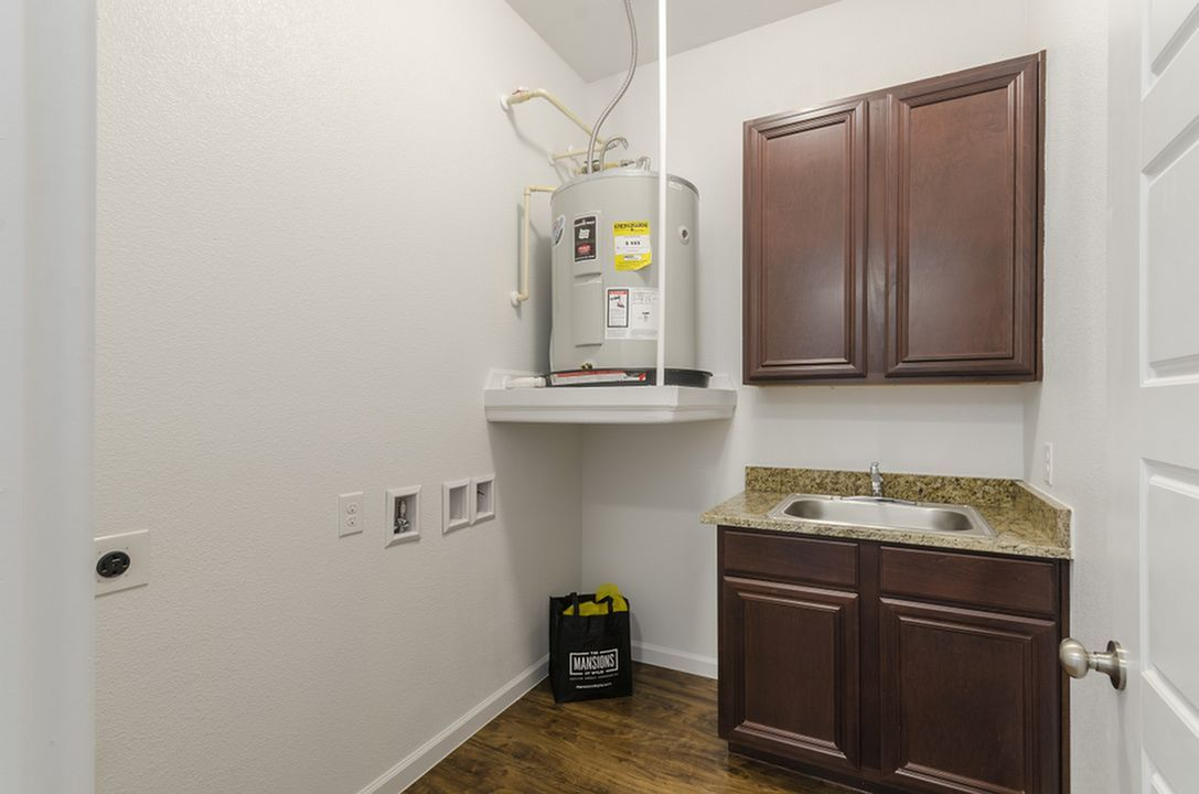 Image of Mud Room with Laundry Sink* for The Mansions of Wylie Active Adult Community