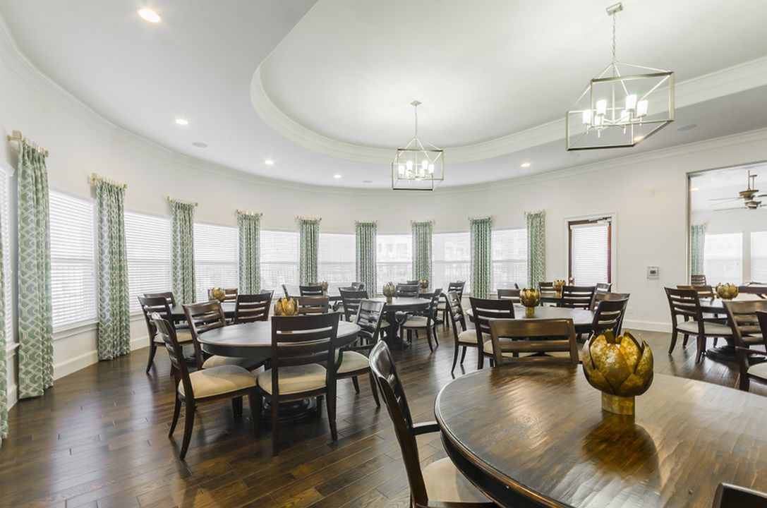 Image of Full Commercial Kitchen & Dining with Optional Meal Service for The Mansions of Wylie Active Adult Community