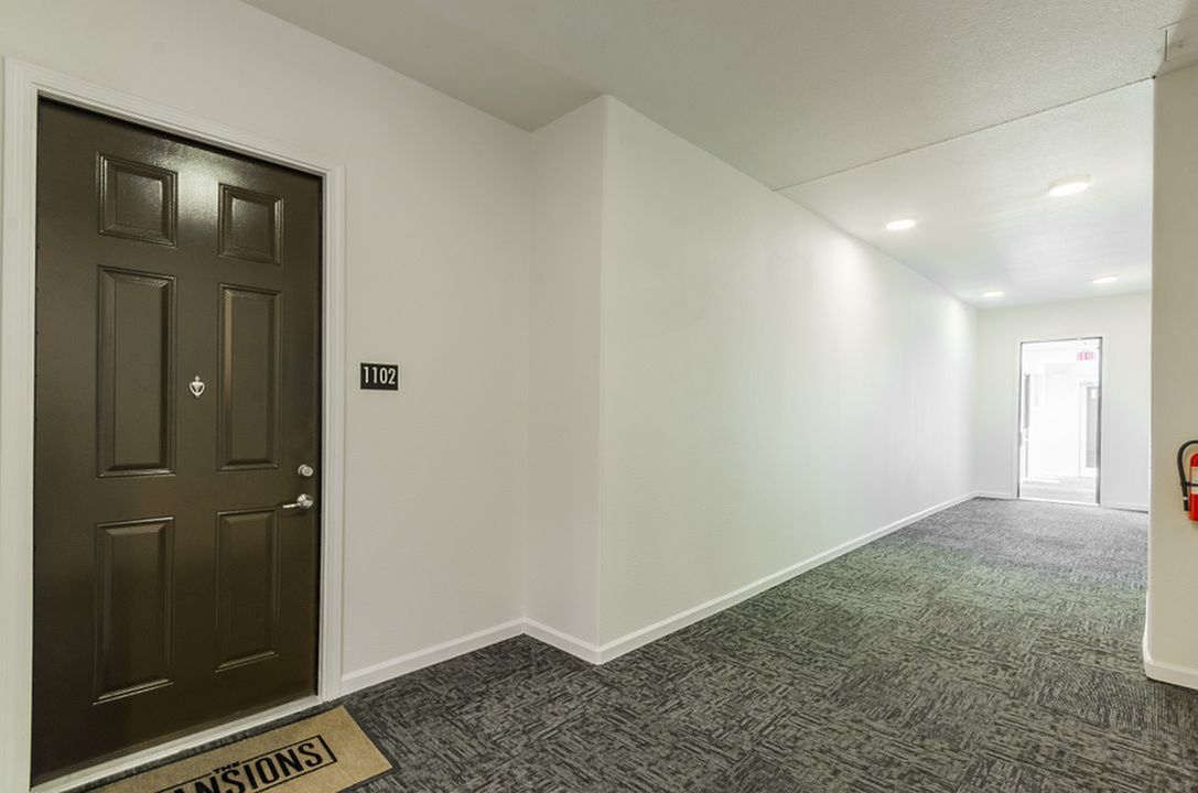Image of Access Controlled Interior Hallways for The Mansions of Wylie Active Adult Community