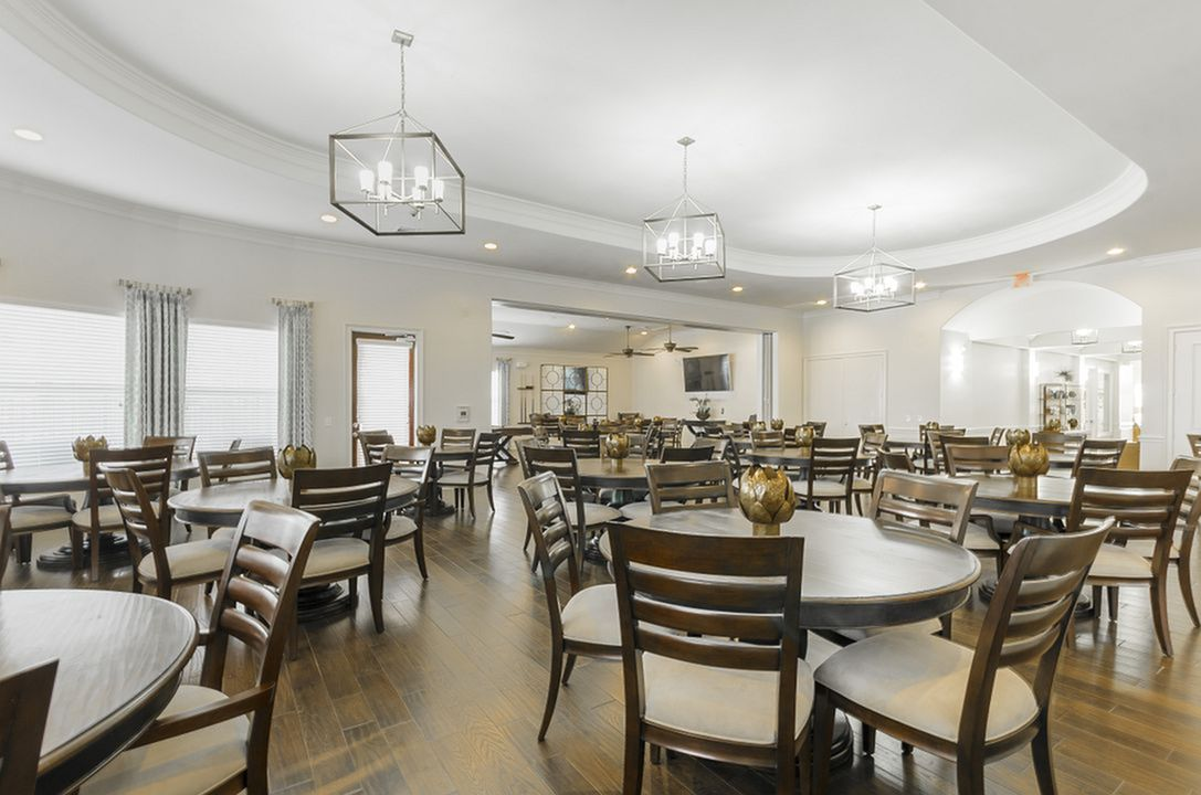 Image of Elegant Ballroom for Dancing for The Mansions of Wylie Active Adult Community