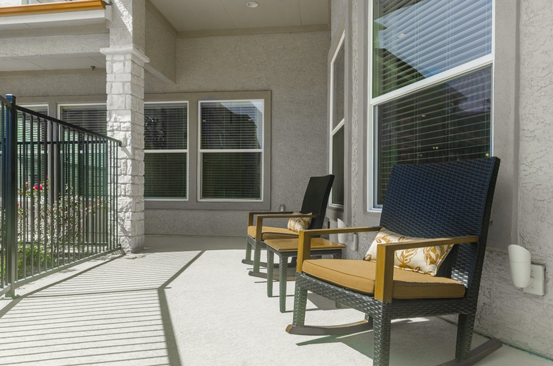 Image of Community Outdoor Wi-Fi Lounge for The Mansions of Wylie Active Adult Community