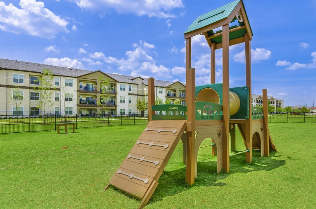Image of Pet-Friendly Community with Private Off-Leash Dog Park & Convenient Waste Stations for The Estates 3Eighty