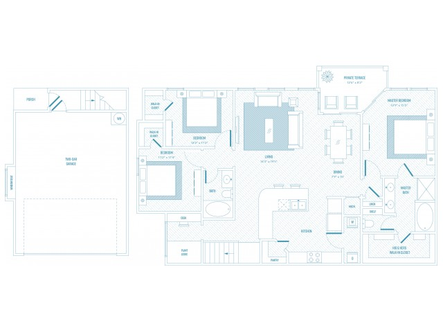 Zeal Floor Plan