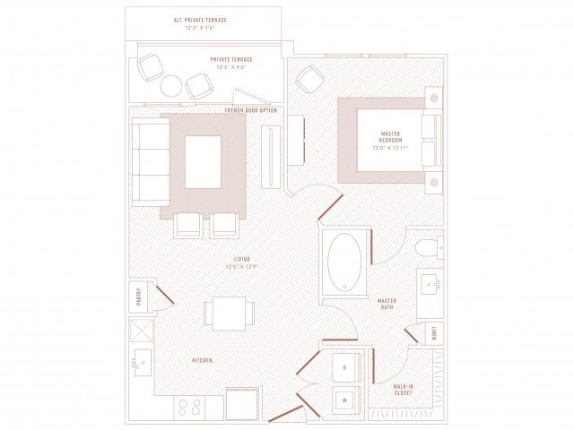 Opulence 1 Bedroom