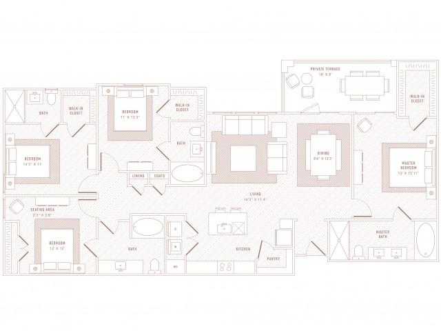 Panache 4 Bedroom