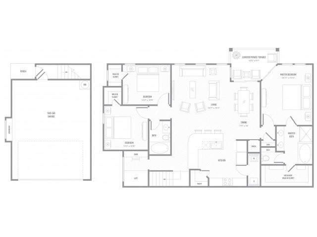 Cabana Floor Plan