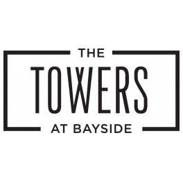 The Towers at Bayside Logo | Apartments Rowlett Texas | The Towers at Bayside