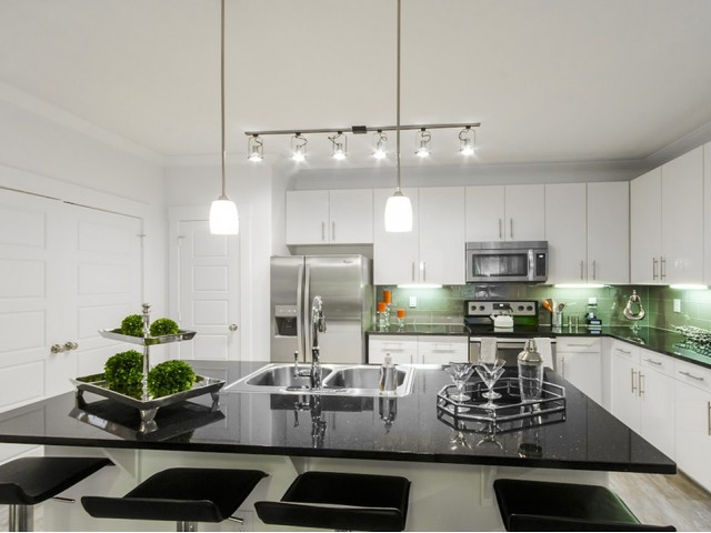 Sleek Track & Pendant Lighting