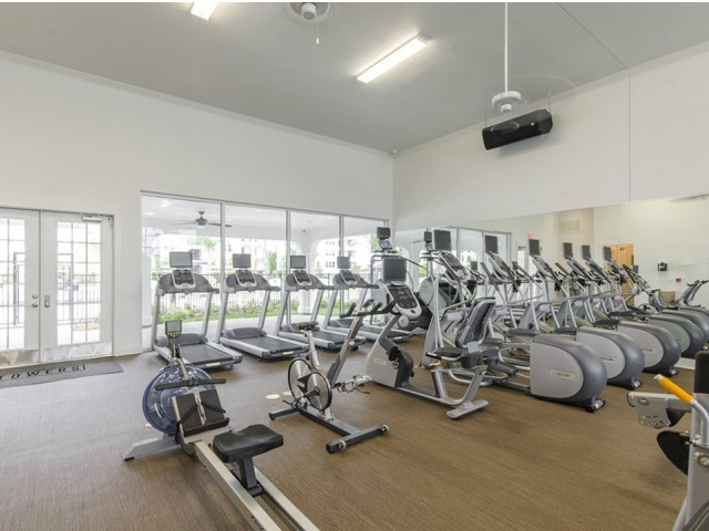 24-Hour High-Tech Fitness Center with Cardio Theater