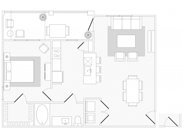 SoCo Floorplan
