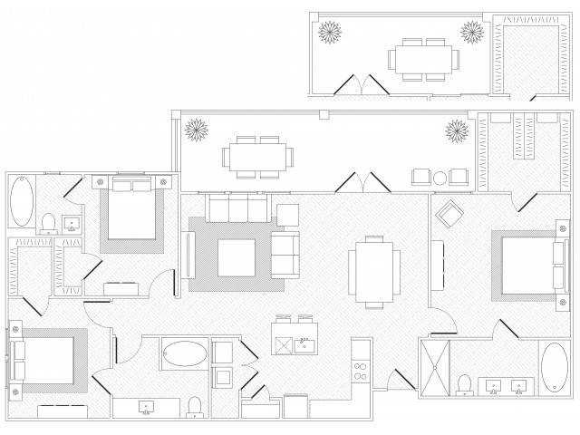 Barton Springs floorplan