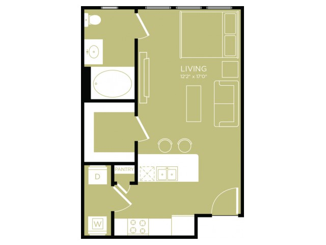 Floor Plan 1   Apartments Wylie   The Mansions at Wylie