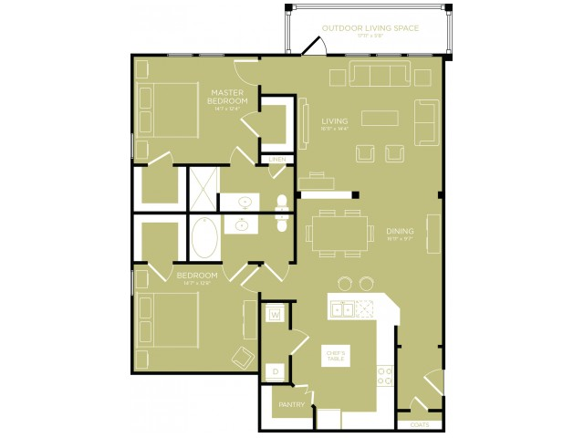 Spacious Floor Plans   Apartments For Rent Wylie TX   The Mansions at Wylie 01