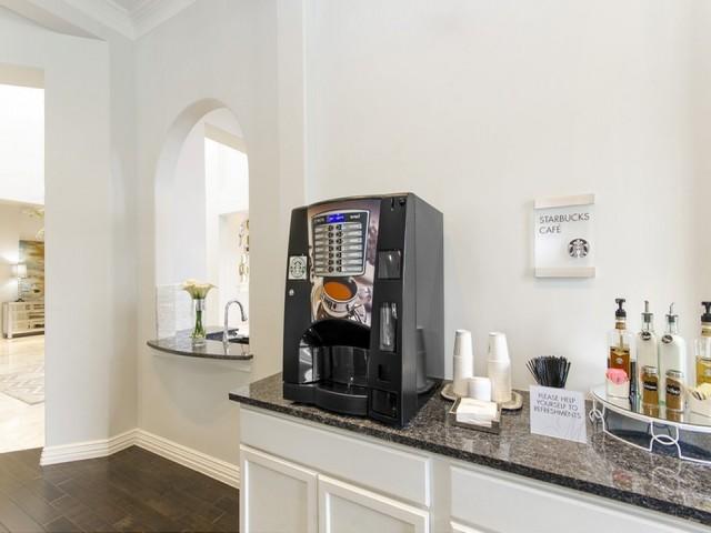 Dedicated Starbucks® Wi-Fi Café