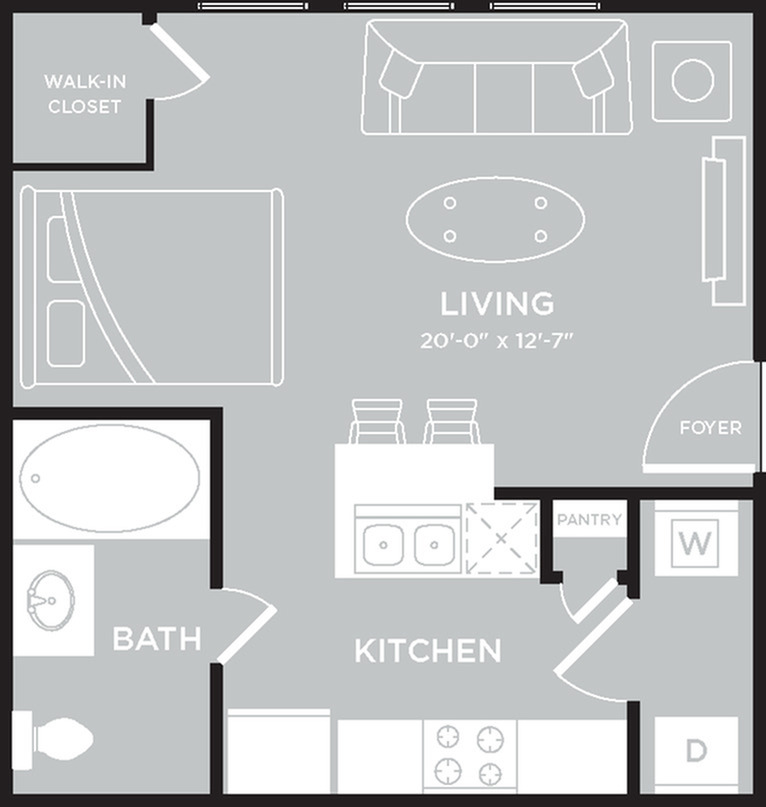 Floor Plan | The Mansions on the Park