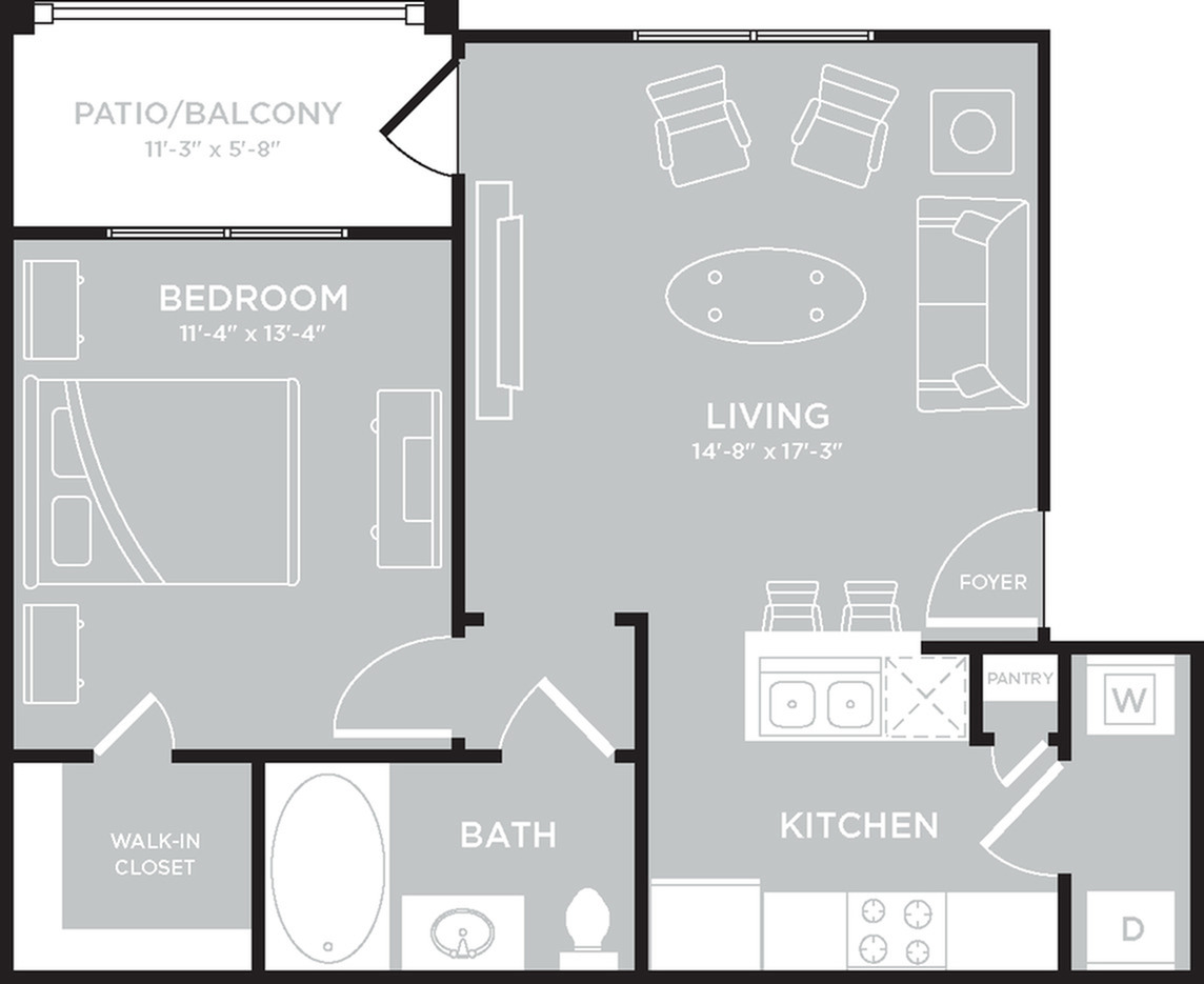Floor Plan 1 | The Mansions on the Park