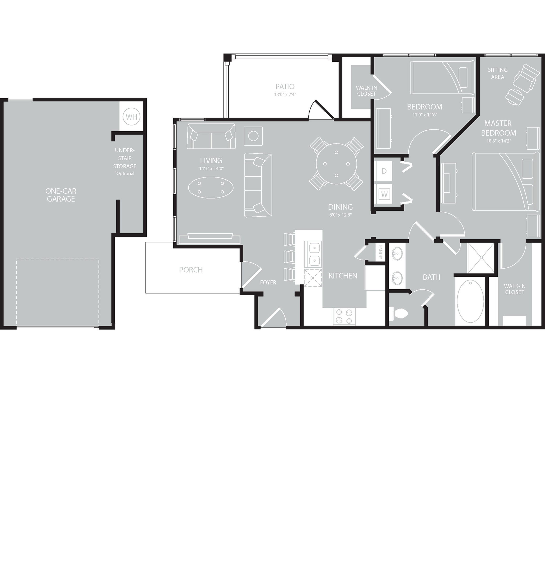 Floor Plan 12 | The Mansions on the Park