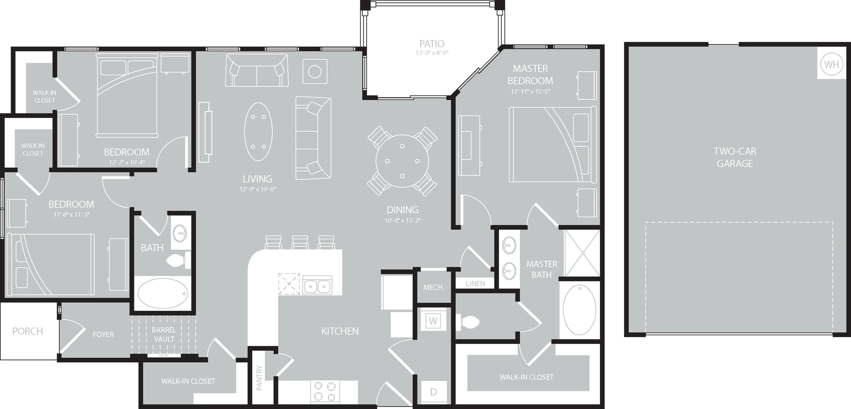 Floor Plan 15   The Mansions on the Park