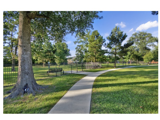 Paved Walking Trails | Apartments in MAGNOLIA | The Mansions on the Park