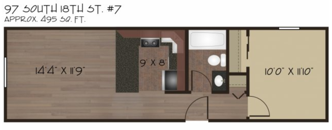 *Square footage is approximate.