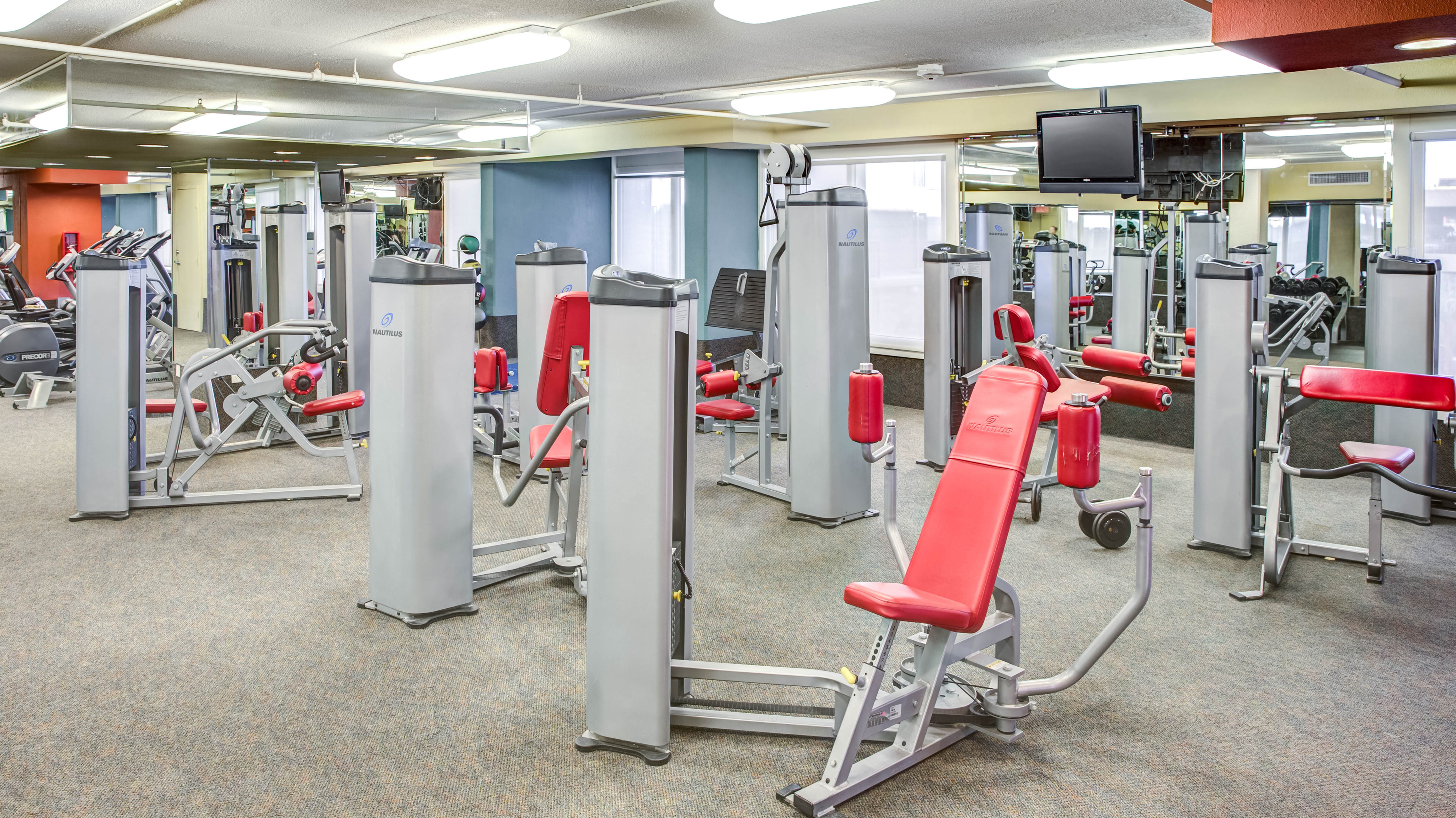 Texas Tech University Housing Fitness Gym