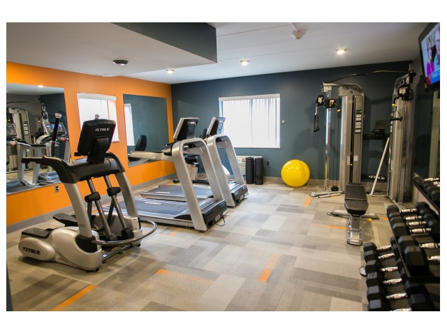 Image of Fitness Center for Camelot Apartments