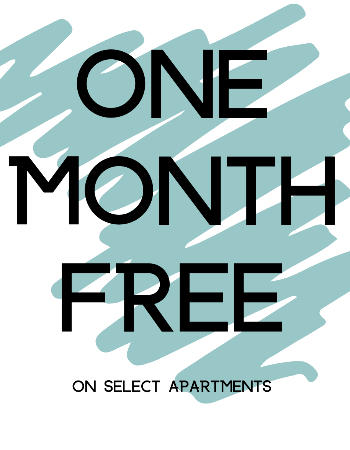One Month Free on Select Apartments!