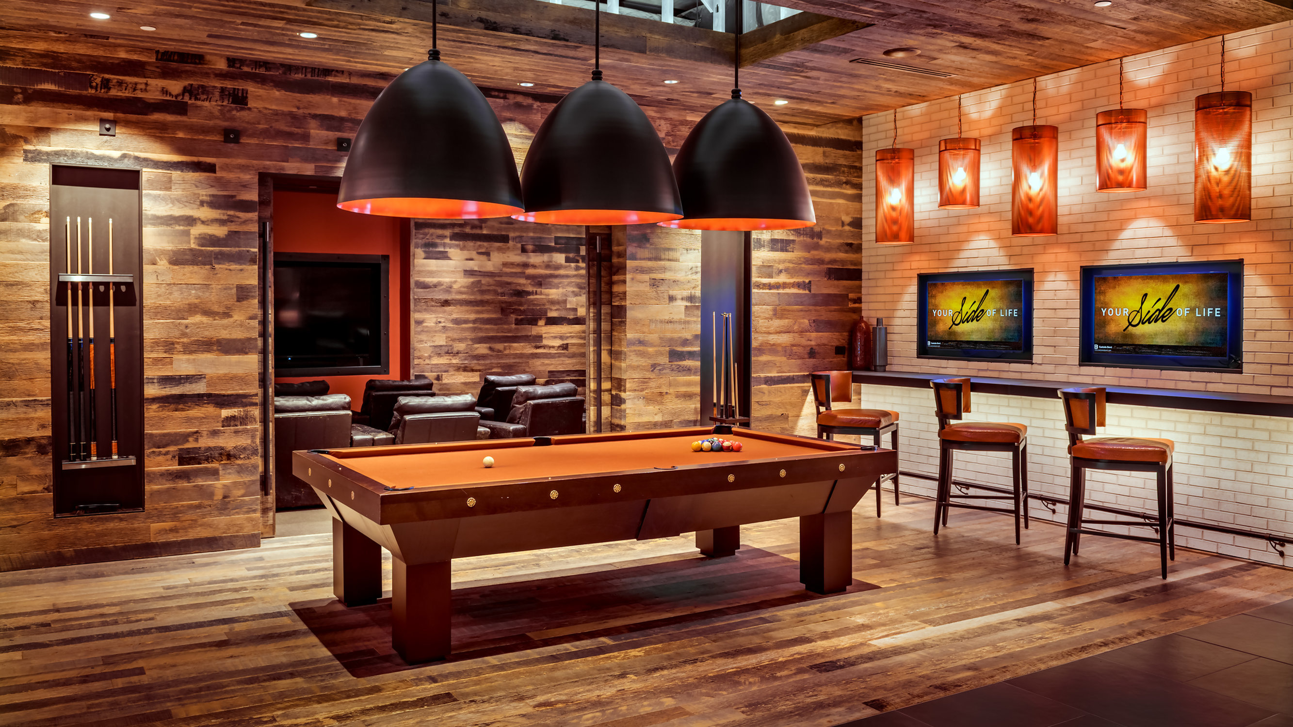 Image of Billiards Lounge for Eastside Bond
